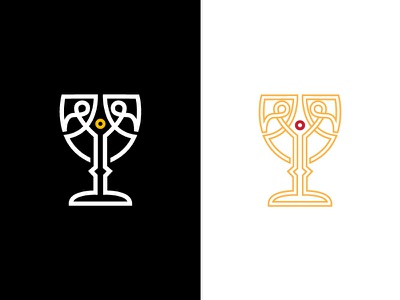 Falstaff Logo WIP vector illustration logo