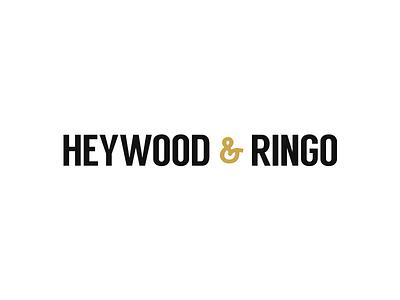 Heywood & Ringo Logo tuxedos attire logo branding