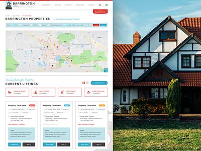 Barrington, IL Property Search government web ui ux real estate