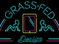 Neon Grass Fed Logo