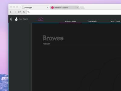 Rapid Prototype prototype minimalistic ui ux ui design simple web design interface portfolio
