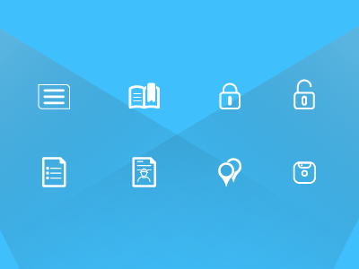 Icon Sheet visual design icons ui design ux research