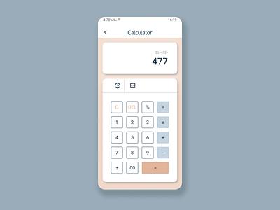 Daily UI #004 - Calculator calculator ui daily ui 100 daily ui design