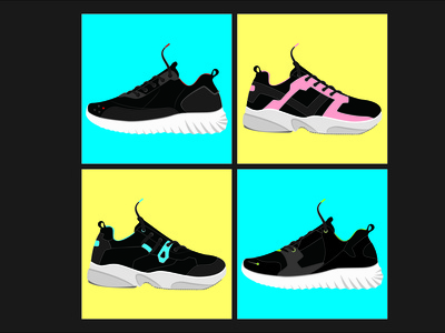 shoes concept design shoes design fashion design illustration vector branding design