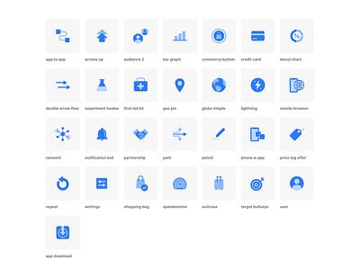 Marketing Icons branding icon