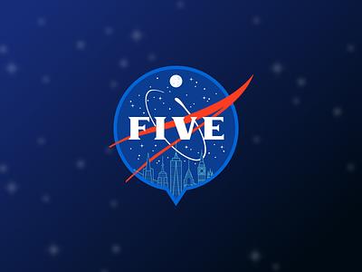 Anniversary Sticker design typography illustration sticker
