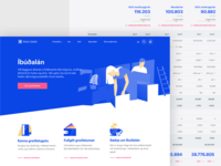 Arion - Loans Page banking finance web design corporate loans page designsystem