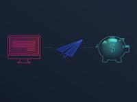Neon Finance Icons