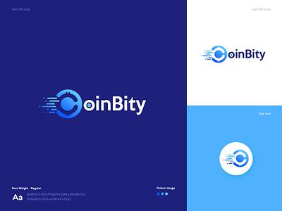 Logo Design crypto logo currency logo bitcoin logo branding logo logo design design