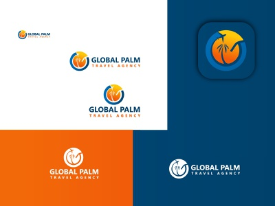 global travel logo design coustom logo design illustration creative logos minimalist logo company brand logo business logo modern logo logo design logo travel logo