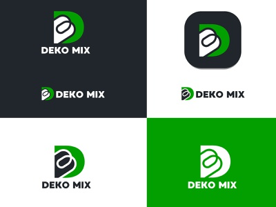 deko mix lettermark logo design website logo colour logo modern logo logo vector business logo company logo 3d graphic design branding logo m letter logo logo design d letter letter logo lettermark logo