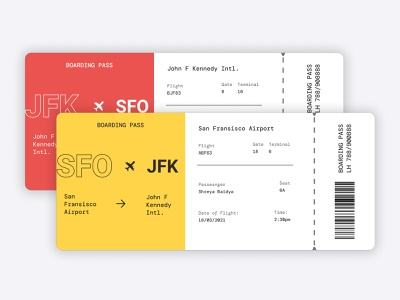 DailyUI-024 Boarding Pass dailyui024 024 boarding pass illustration ui ux branding daily 100 challenge minimal design dailyuichallenge