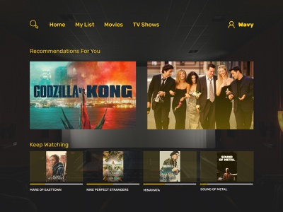 DailyUI-025 TV App hulu netflix movies app tvapp dailyui025 025 ux daily 100 challenge minimal design dailyuichallenge
