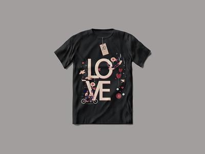 LOVE T-Shirt Design typography design branding love t-shirt design