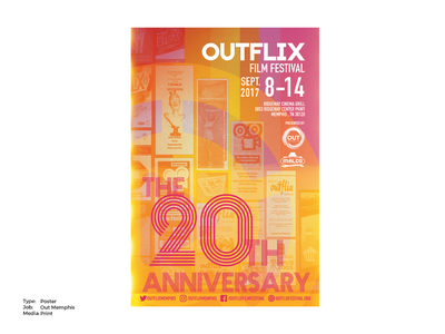 2017 Outflix Film Festival Poster