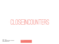 Close Encounters Logo