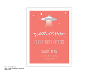 Close Encounters Event Poster