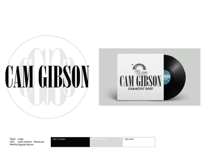 Cam Gibson Album Art