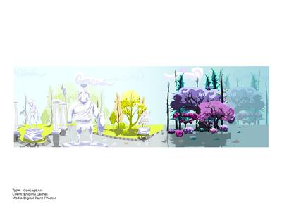 War Gods Online 3D Concept Art