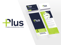 Plus: Funeral Business Solutions - Branding