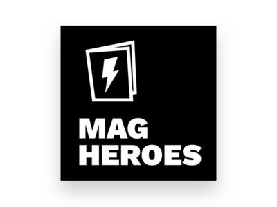 Mag Heroes Season 3 flash logo icon podcast