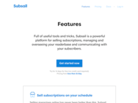 New Subsail marketing site