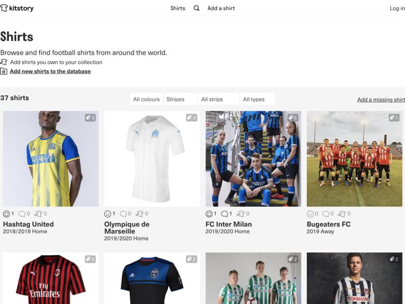 kitstory! sports design jersey shirts soccer football