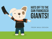 Congratulations SF Giants from Waui Design