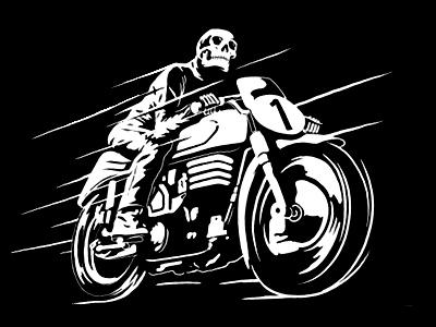 Moto biker dribbble