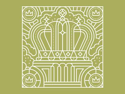 Reflection symmetry geometric leaves linework foliage symbolism monoline logo editorial retro graphic character vector illustration