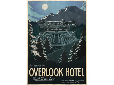 Travel Posters typedesign lotr lettering typography landscape movie posters the shining movies posterdesign travel posters design retro drawing graphic character texture illustration