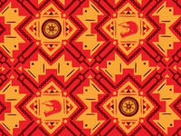 X-Fighters pattern illustration african pattern schweschwe motorbike extreme xfighters helmet wheel chain motorcycle geometric