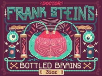 Frank Stein's Bottled Brains