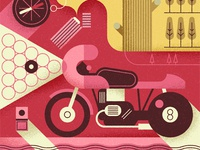 Bikes and billiards