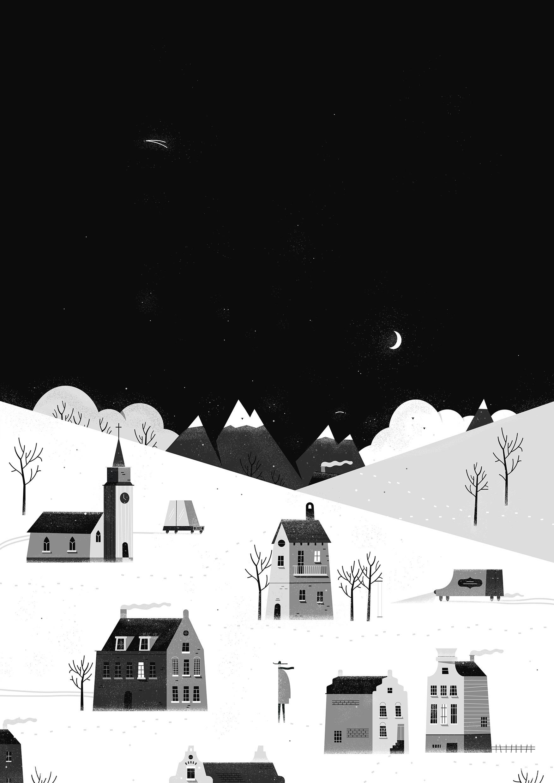 Snow dribble
