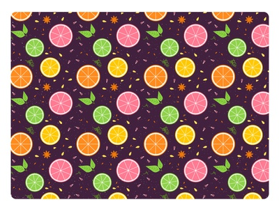 Flu Fighting winter retro wallpaper repeating leaf pattern medicine texture icon flat vector illustration