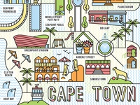 Cape Town Map