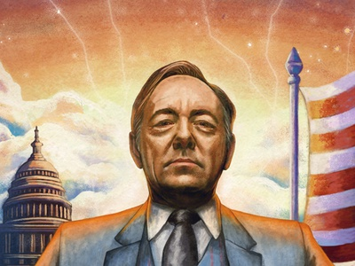 The Netflix Generation stranger things narcos clouds orange is the new black kevin spacey america series character portrait texture digital painting illustration