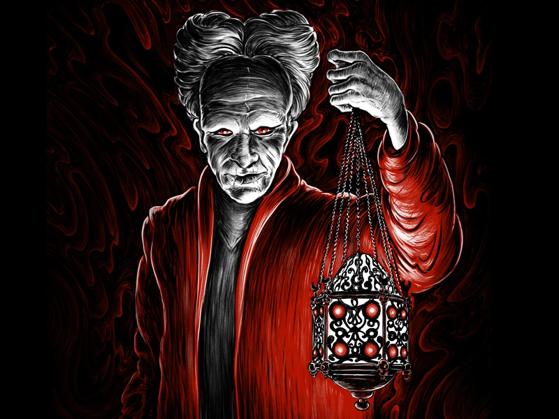 Dracula dribbble
