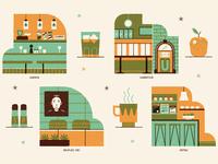 10 Coolest Cafeterias