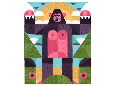 Bigfoot claws sun trees scary teeth myth hairy folklore ape sasquatch bigfoot