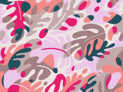 Delicious Wallpaper pattern wallpaper leaves leaf design flat drawing vector texture illustration
