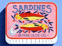 Dribble sardines