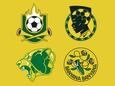 Banyana Banyana vector sticker badge lion protea ball boot nike football soccer