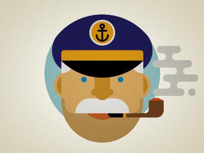 Cap'n sailor captain maritime
