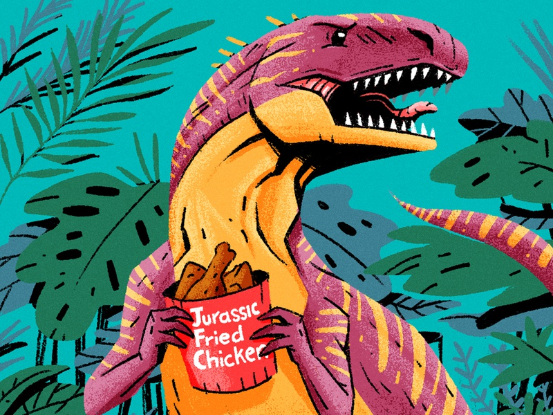 Manchester Alumni Magazine oceans carnivore t-rex volcano ocean dinasaur egyptian facts editorial drawing graphic character texture illustration