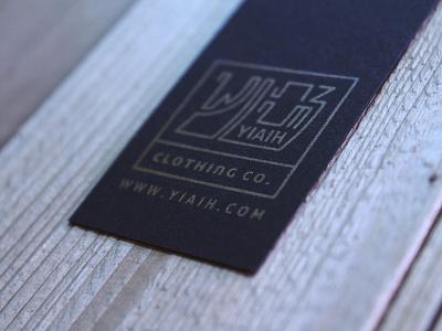 Hangtag design hangtag aksara logo print clothing apparel