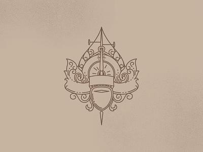 Gita badge logo emblem mark symbol