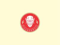 Thundervil Badge