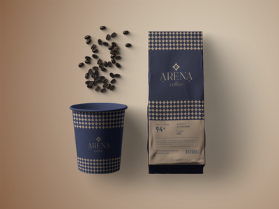 arena coffee logodesign logotype typography creative simple logo simple branding logo design cafe logo coffee bean coffee shop coffee cup